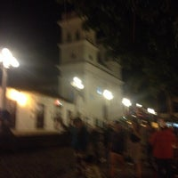 Photo taken at Parque Principal by Juan C. on 4/18/2014