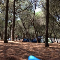 Photo taken at Lisboa Camping by Sergio S. on 7/11/2013