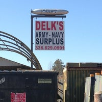 Photo taken at Delks Army Navy Surplus by Ben H. on 3/8/2013