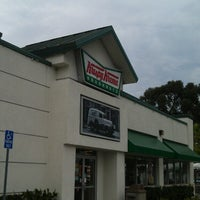 Photo taken at Krispy Kreme Doughnuts by Alex K. on 7/21/2013