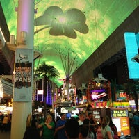 Photo taken at Fremont Street Experience by Seth M. on 3/18/2013