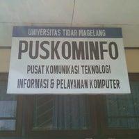 Photo taken at Universitas Tidar by Rio S. on 5/9/2014