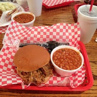 Photo taken at Hometown Barbeque by Buzz B. on 5/1/2013