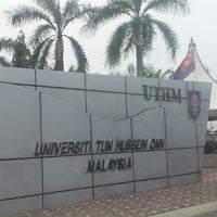 Photo taken at Universiti Tun Hussein Onn Malaysia (UTHM) by Azizul J. on 9/18/2014