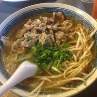 Photo taken at Lulu's Noodles by Kathy G. on 9/21/2013