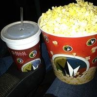 Photo taken at Regal Cinemas Palladium 14 & IMAX by Kim C. on 3/29/2013