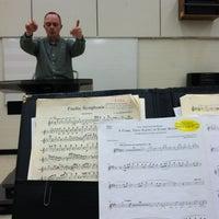 Photo taken at Performing Arts Center - SCSU by Luke P. on 3/19/2013