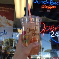 Photo taken at Dutch Bros. Coffee by Riley P. on 10/22/2013