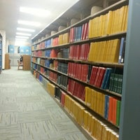 Photo taken at UTA Library by Jessica N. on 4/3/2013