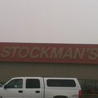 Photo taken at Stockman's by Bradley T. on 3/30/2013