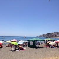 Photo taken at Playa de Calabajío by Rocio G. on 6/8/2014