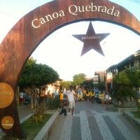 Photo taken at Praia de Canoa Quebrada by Jonny S. on 2/12/2013
