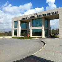 Photo taken at Namık Kemal Üniversitesi by Ali B. on 3/10/2013