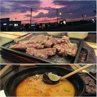 Photo taken at Ajisen Ramen 味千ラーメン by Kurtis K. on 7/8/2013