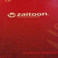 Photo taken at Zaitoon Restaurant by Ram Sankar P. on 10/20/2013