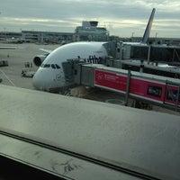 Photo taken at Lufthansa Flight LH 440 by OceanClub 7. on 9/2/2013