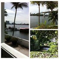 Photo taken at Anantara Bangkok Riverside Spa & Resort by Jennifer d. on 7/14/2013