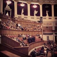 Photo taken at Новосибирский государственный академический театр оперы и балета by Анастасия Р. on 10/25/2013
