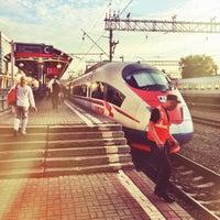 Photo taken at Kursky Rail Terminal by Anton K. on 6/14/2013