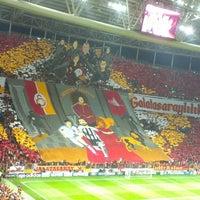 Photo taken at Türk Telekom Arena by Beyza Yaren B. on 9/18/2013