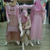 Photo taken at Moshaict - Moslem Fashion District Indonesia by Anna P. on 3/29/2013
