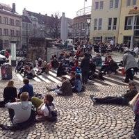 Photo taken at Augustinerplatz by Ingo H. on 4/4/2013