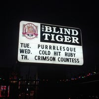 Photo taken at The Blind Tiger by lilpea on 10/23/2012