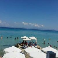 Photo taken at Almyra Beach Bar by Budimir on 7/16/2016