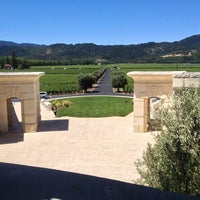 Photo taken at Opus One Winery by Michio H. on 6/13/2013