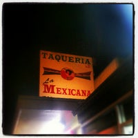 Photo taken at Taqueria La Mexicana by murderbeats on 9/29/2012