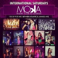 Photo taken at Moka Nightclub & Lounge by Ryan S. on 1/21/2014