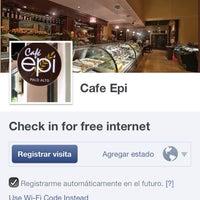 Photo taken at Cafe Epi by Diosnegro A. on 3/16/2013