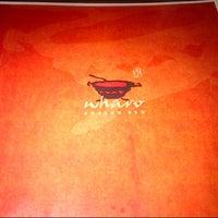 Photo taken at Wharo Korean BBQ by Leanna B. on 3/17/2013