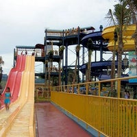 Photo taken at Ocean Park Water Adventure by Yoga F. on 3/24/2013