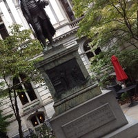 Photo taken at Benjamin Franklin Statue by Armando R. on 9/11/2014