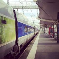 Photo taken at Gare SNCF du Mans by MikaelDorian on 1/17/2012