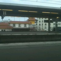 Photo taken at RER Joinville-le-Pont [A] by Cyril L. on 12/23/2011