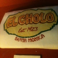 Photo taken at El Cholo by Elina T. on 3/20/2012