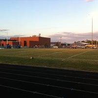 Photo taken at Carlinville High School Field by Matt T. on 9/23/2011