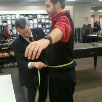 Photo taken at Men's Wearhouse by Ben S. on 12/2/2011