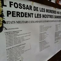 Photo taken at Fossar de les Moreres by Antoni V. on 9/11/2011