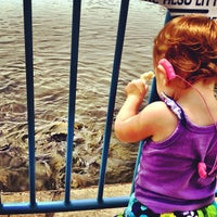 Photo taken at Linesville Spillway by DAVi D. on 9/2/2012