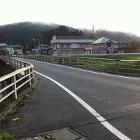 Photo taken at 浅岸橋 by haru 0. on 7/29/2011