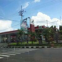 Photo taken at SPBU 54.613.06 Bhayangkara - Mojokerto by YulKoz on 5/18/2012