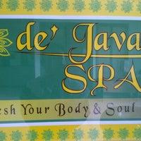 Photo taken at De'Java Spa by Linda F. on 1/12/2012
