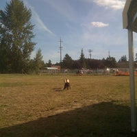 Photo taken at Potso Dog Park by Mark M. on 8/23/2011