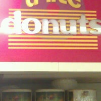 Photo taken at D-lite Donuts by K C. on 3/22/2012