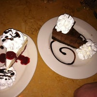Photo taken at The Cheesecake Factory by Cate G. on 3/14/2012