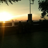 Photo taken at Marine Drive by Prasoon C. on 10/1/2011
