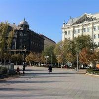 Photo taken at Szabadság tér by Oleg B. on 11/17/2011